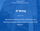 POP Seminar Announcement: Xi Wang