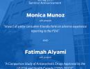 POP Seminar Announcement: Monica Munoz and Fatimah Alyami