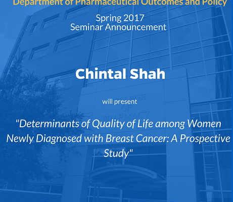 Chintal Shah POP Seminar