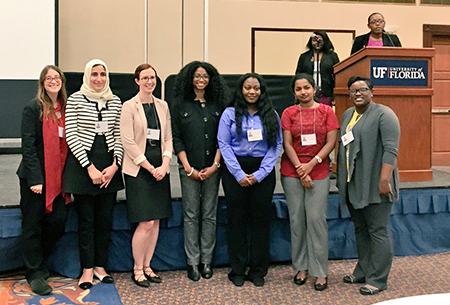 Ghadeer Dawwas places first in UF Diversity Grad Research Symposium