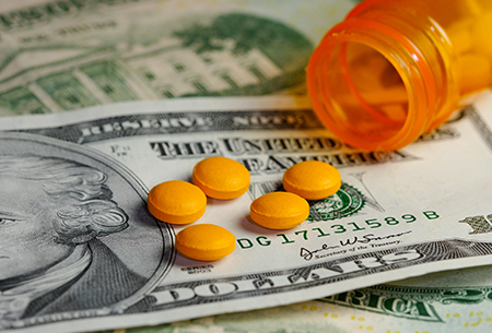 Pills and Money for Generic Drug pricing