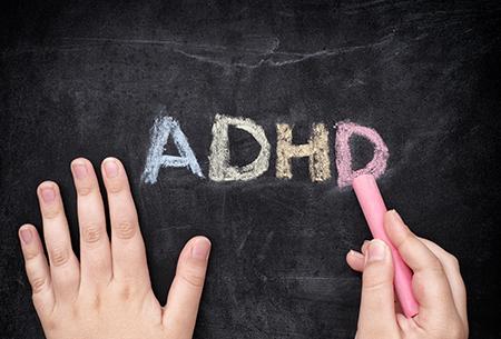 ADHD chalkboard photo