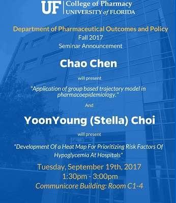 Chao Chen and Stella Choi POP Seminar