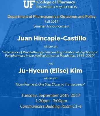 Juan Hincaoie-Castillo and Elise Kim POP Seminar