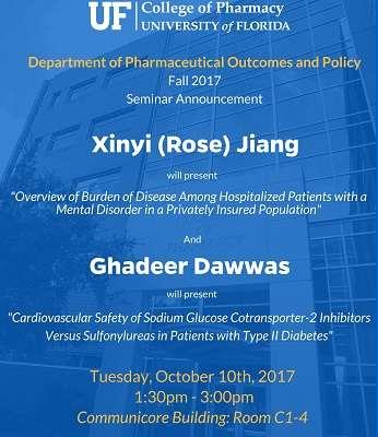 Rose Jiang and Ghadeer Dawwas POP Seminar