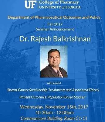 Dr. Rajech Balkrishnan POP Seminar