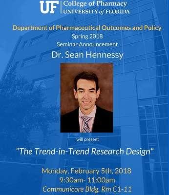 Dr. Sean Hennessy POP Seminar