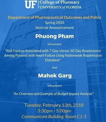 Phuong Pham and Mahek Garg POP Seminar