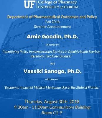 Amie Goodin Ph.D. POP seminar