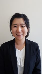 Headshot of graduate student, Jessie Wang