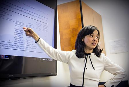 Jenny Wei Teaching Class