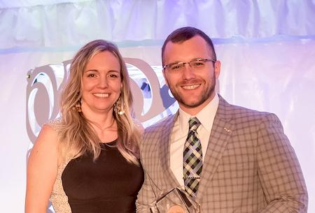 Dr. Josh Brown receives AMCP award