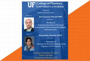Amir Sarayani and Munaza Riaz seminar thumbnail image