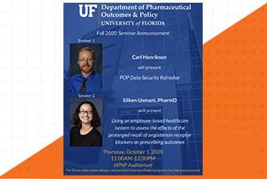 Seminar Announcement: Carl Hendrickson and Silken Usmani