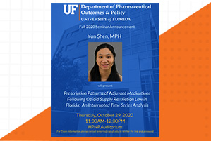 Yun Shen Seminar Announcement