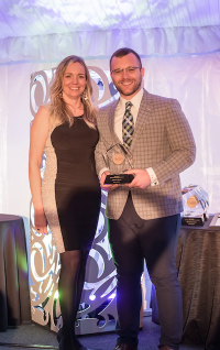 Dr. Josh Brown receives AMCP award