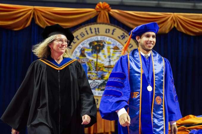 Juan and Almut graduation