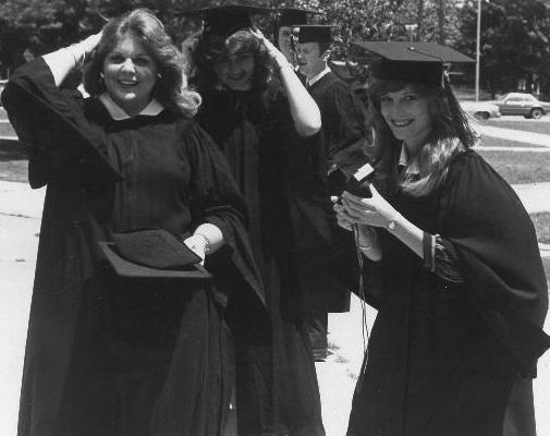 graduate image black and white