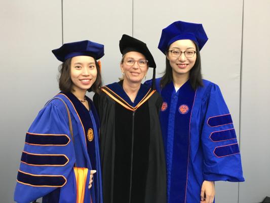 dr winterstein and graduates