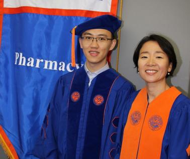 Yan Li and Haesuk Park Graduation